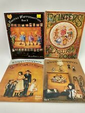 Lot of 4 Helan Barrick Whippersnappers Decorative Tole Painting Pattern Books P9