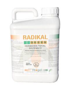 Désherbant Herbicide 5L Tous jardins concentrés Pour Jardins Extérieurs