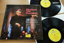 KARAJAN Meisterkonzert  Strauss Sibelius Tchaikowsky Ravel DGG 2 LP