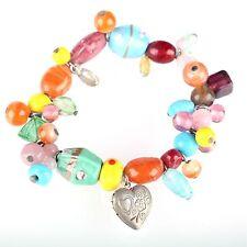 Markenlose Modeschmuck-Armbänder aus Glas und gemischten Metallen