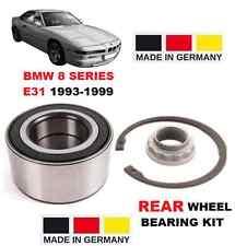 FOR BMW 8 E31 SERIES 1993-1999 840 850 CI CSI NEW REAR WHEEL BEARING KIT