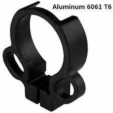 Tactical Single Point End Plate Dual Loop Sling Adapter Right Left Handed Mount