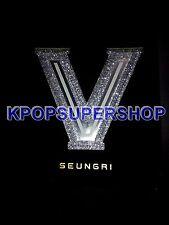 SEUNGRI V BIGBANG V.V.I.P 1st Album Silver Version CD Promo Rare Color GD TOP