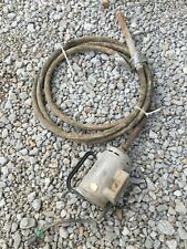 #4 Dreyer mini champ model Be commercial concrete vibrater 1 1/2 Hp Motor Usa