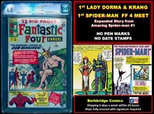 🔥 FANTASTIC FOUR ANNUAL #1 CGC 4.5 OW WHITE 🔥 $1 SHIPPING W ANY SUB-MARINER 1