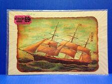 Vintage Large Meyercord Decorator Decals Ship 1517-A
