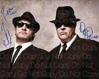Blues Brothers signed Aykroyd Belushi 8X10 photo picture poster autograph RP