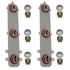 Pair Tail Light Circuit Boards w/Bulbs Fits 02-08 TrailBlazer Left Right 923-009
