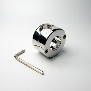 Stainless Steel Men Male penis Ball Stretcher Penis Enhancer Toys Device Sets