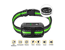 Smart Dog Bark Collar 5 Adjustable Sensitivity & Intensity Levels Dual Anti-Bark