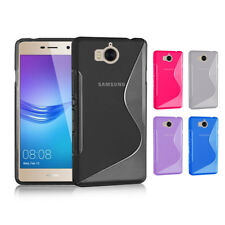 New S CURVED GEL CASE For Huawei Y5 2017  Screen Protector