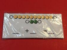 Montessori Beads Addition  Kit - Match & Write - 21 Pieces Laminated dry erase