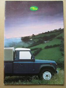 .Land Rover ninety and One ten  brochure LR410 1986..4 x 4 brochure.