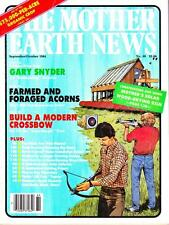 Mother Earth News No.89 Sept/Oct 1984 Chain Saw Manual, Field Dressing Game More