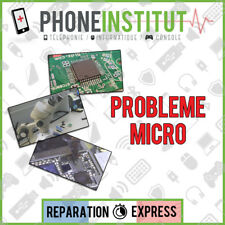 Reparation probleme micro iphone 3G