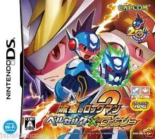 Used DS Rockman 2 Berserk ~ Dinosaur Meteo CAPCOM NINTENDO JAPANESE IMPORT