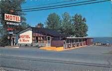 Ste Marthe du Cap Quebec Canada Motel Le Havre Exterior View Postcard J77126