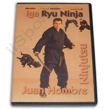 Iga Ryu Ninja Ninjutsu Hombre Dvd Jinichi Kawakami Atemi Taikenjitsu Goroshi New