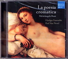 Mixhelangelo ROSSI La Poesia Cromatica HUELGAS ENSEMBLE Paul Van Nevel DHM CD