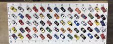 Micro Machines Lot of 70 - European  Exotics - Lotus, Ferrari, Pantera, &  More!