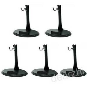 """5PCS 1/6 12""""Action Figure Doll Stand Base for Hot Toys Sideshow Enterbay Dragon"""
