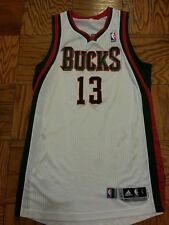 Ramon Sessions 13-14 Bucks game worn home jersey
