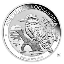 2019 Kookaburra 1oz Silver BU Coin