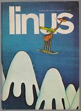 LINUS 12 anno XIV 1978 peanuts feiffer altan mordillo tranches de vie hit parade