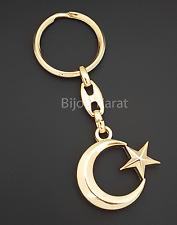 Türkei Schlüsselanhänger Türkische Flagge Fahne Ay Yildiz Anahtarlik Gold Altin