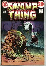 Swamp Thing #4-1973 vf Bernie Wrightson / Len Wein / Werewolf story