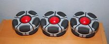 Lot of 3 Wowwee Tribot Robot Replacement Wheel Spinner And Red Hub Cover Part