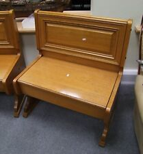 VINTAGE 1960's/70's 'CHAPEL' BENCH - (163)