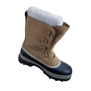 SOREL CARIBOU Womens Insulated Waterproof Boots Size 8.5