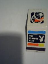 1961 THE PLAYBOY CLUB Atlanta Matchbook rabbit,georgia,matches