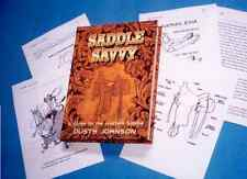 SADDLE SAVVY book - parts details, care, how to buy used, fun and easy to read