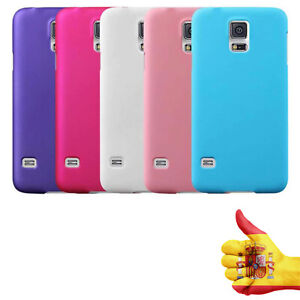 Funda Silicona dura mate Ultra Thin para Samsung Galaxy S5 i9600 Elige tu Color