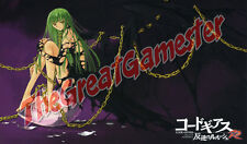 Code Geass C.C. Black Wings and Egg Custom Playmat / Gamemat / Mat #350063