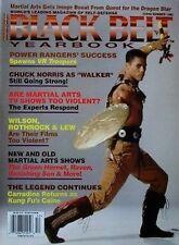 1995 BLACK BELT YEARBOOK MIKE STONE TAIMAK  MAS OYAMA KARATE KUNG FU MARTIAL ART