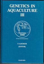 Genetics in Aquaculture III