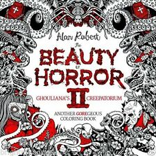 Beauty of Horror 2 Adult Colouring Book Gore Gothic Halloween Creepy PREORDER