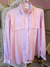 Yves St. Clair Pink Blouse SZ 16