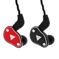 EG_ QKZ VK6 Detachable Heavy Bass In-Ear Earphones Wired Sport Headphone Earbuds
