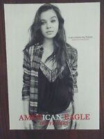 2016 PRINT AD, Hailee Steinfeld, American Eagle Outfitters