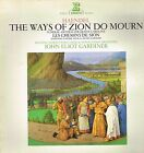 "LP 12"" 30cms: Haendel: the ways of Zion. John Eliot Gardiner. erato. D5"