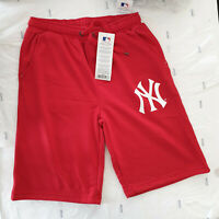 BERMUDA NEW ERA PANTALONCINO NEW YORK NY A5NYY4755RED015 PAVEL FLC SHORT ROSSO