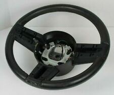 05 06 07 08 09 FORD MUSTANG GT V6 BLACK LEATHER STEERING WHEEL OEM FREE SHIPPING