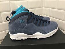 Nike Air Jordan Retro X 10 LA Los Angeles Midnight Navy Blue SZ 10 310805-404