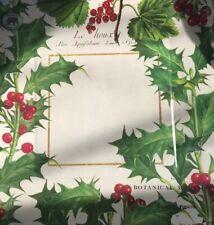 Michel Design Works 8 Paper Christmas Dinner Plates