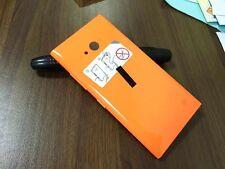 Rear Panel Battery Back Door Cover For Nokia Lumia 730 Dual SIM RM-1040 Orange