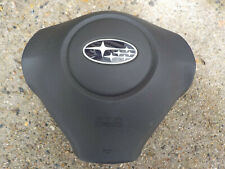 2008 2009 SUBARU  DRIVER WHEEL AIR BAG OEM (CHARCOAL)